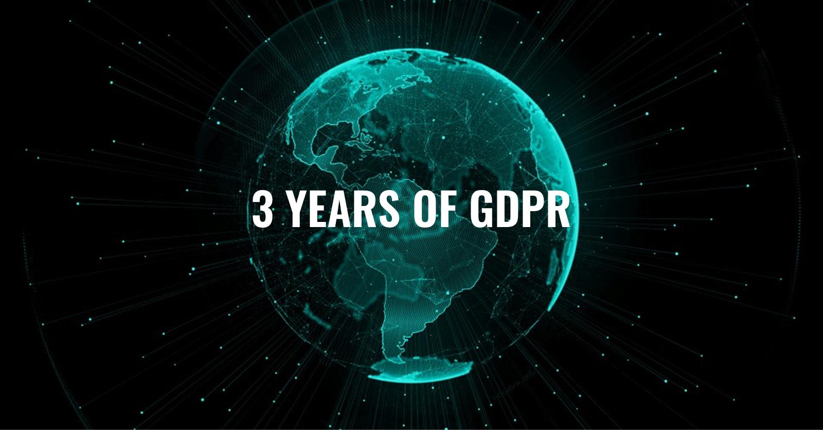 Happy Birthday, GDPR!